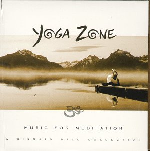 YOGA ZONE RELAXATION MUSIC CD COVER