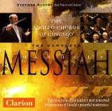 BUY THE COMPLETE HANDEL'S MESSIAH CD THE APOLLO CHORUS OF CHICAGO