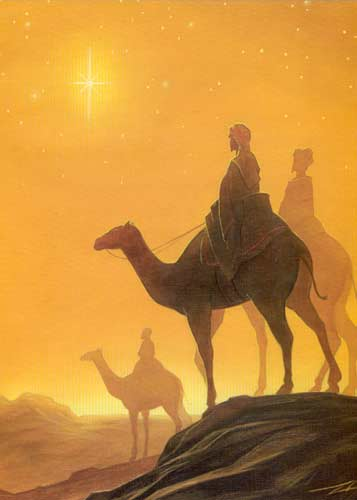 EXPAND CHRISTMAS IMAGE OF THREE WISE MEN