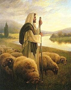PICTURES OF THE GOOD SHEPHERD JESUS PAINTING