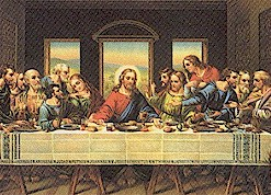 LAST SUPPER DAVINCI PICTURES OF JESUS ART