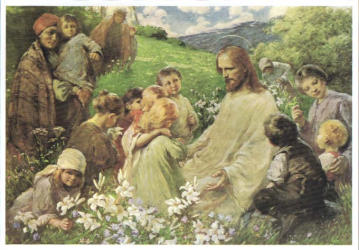 CHRIST AND THE CHILDREN II