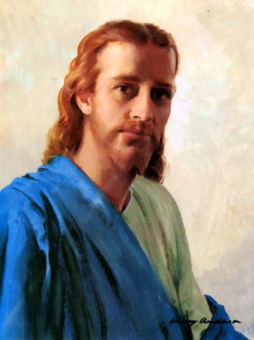 PAINTINGS OF JESUS FACE II