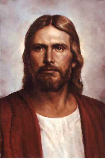 PAINTINGS OF JESUS FACE