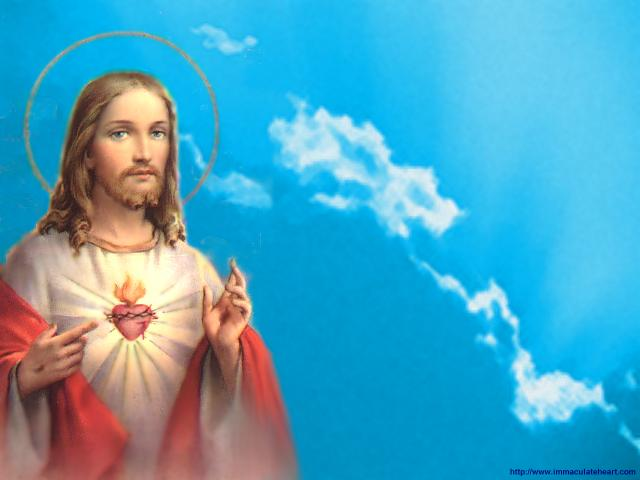 PAINTINGS OF JESUS SACRED HEART ART VI