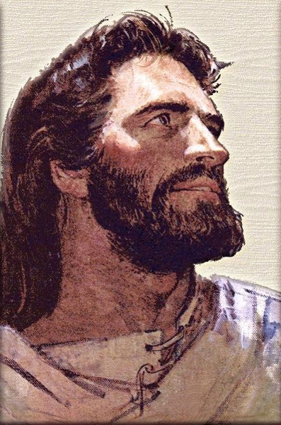 FACE OF JESUS PAINTING II
