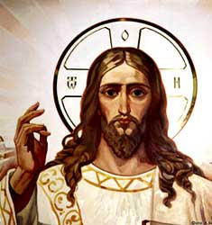 JESUS CHRIST FACES ART PRINT