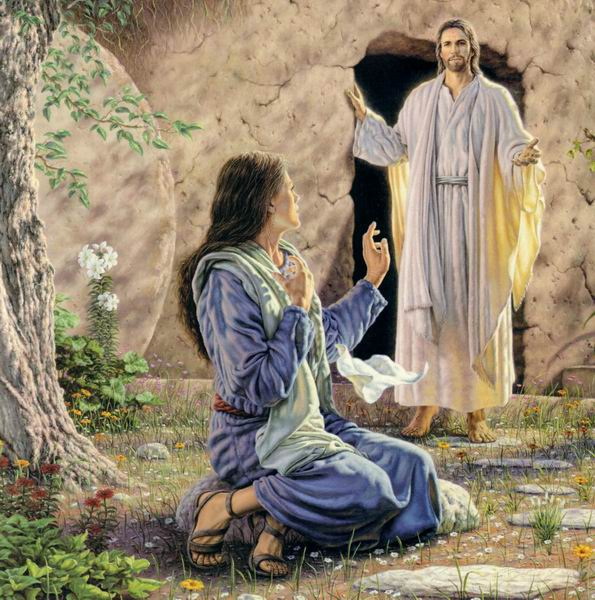 JESUS TOMB PAINTING