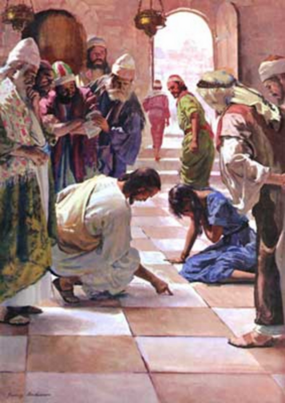 WOMEN AT THE WELL PICTURES OF JESUS ART