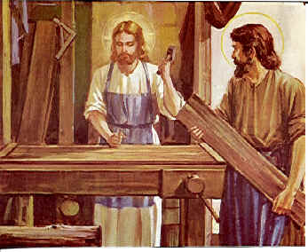 PORTRAITS OF JESUS IN THE CARPENTER SHOP