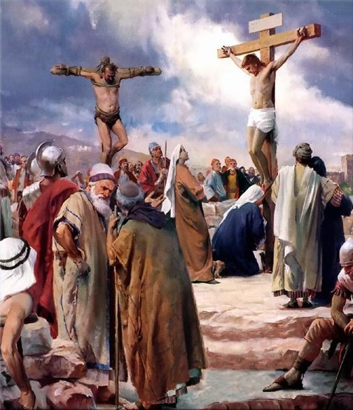 CRUCIFIXION OF JESUS CHRIST ART II