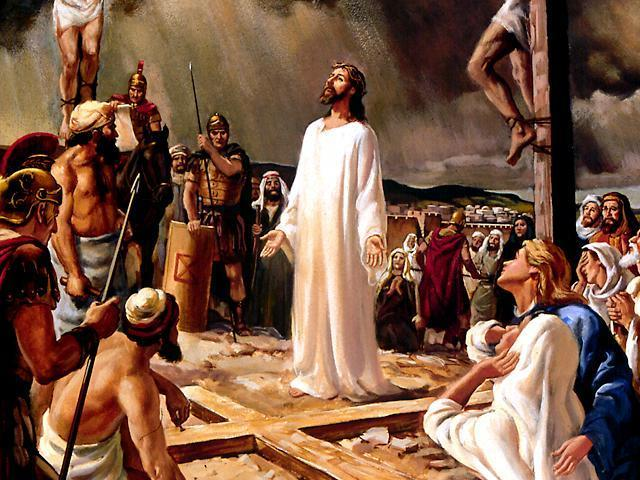 CRUCIFIXION OF JESUS CHRIST ART