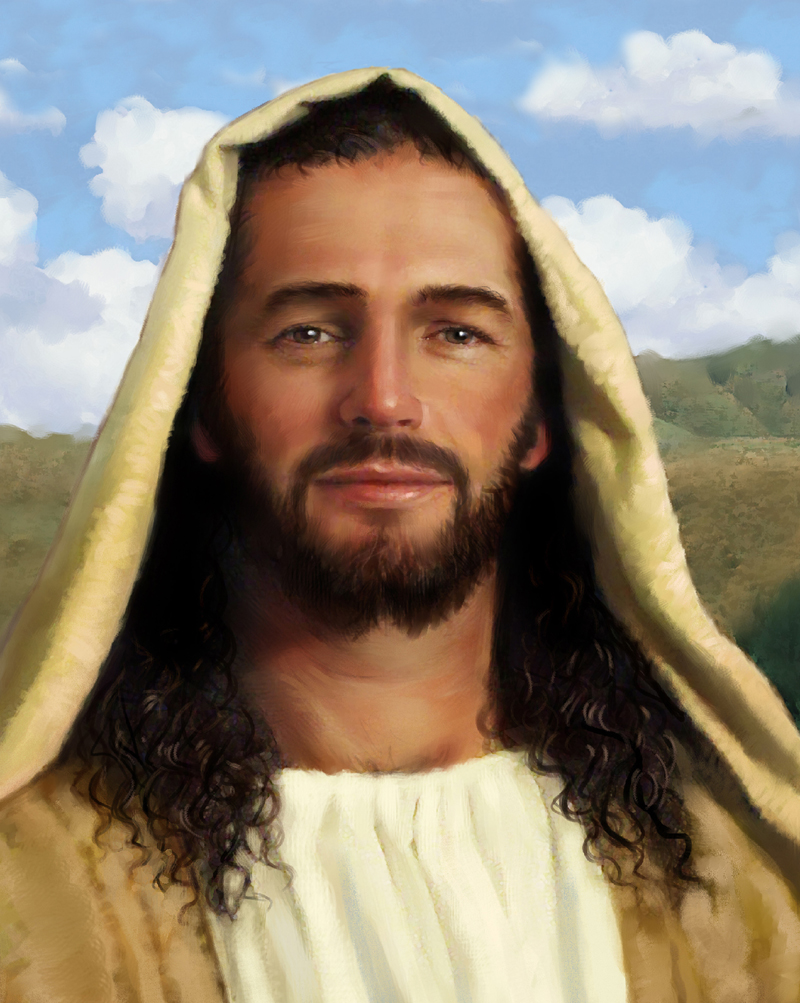 JESUS FACE PORTRAIT