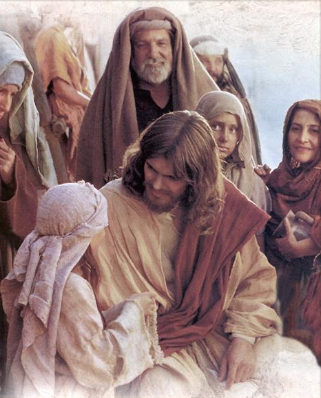 JESUS AND THE CHILDREN PHOTO
