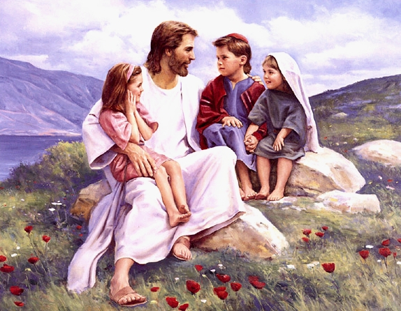 JESUS BLESSES THE CHILDREN II