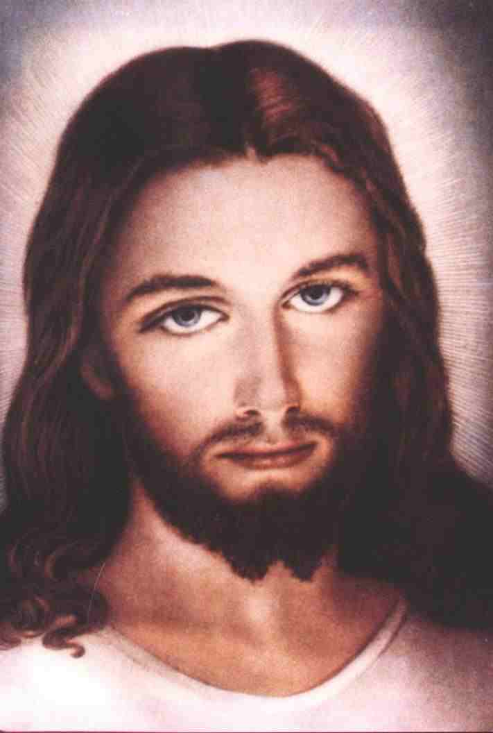 FACE OF JESUS PAINTING