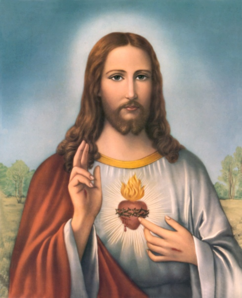 SACRED HEART OF JESUS WALLPAPER VII