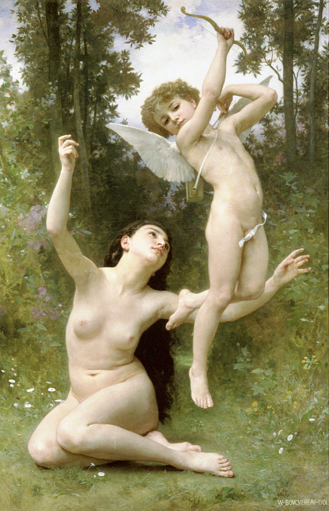 CUPID AND PSYCHE NATURE ANGELS