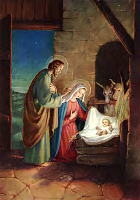 MARY JOSEPH BIRTH INFANT JESUS