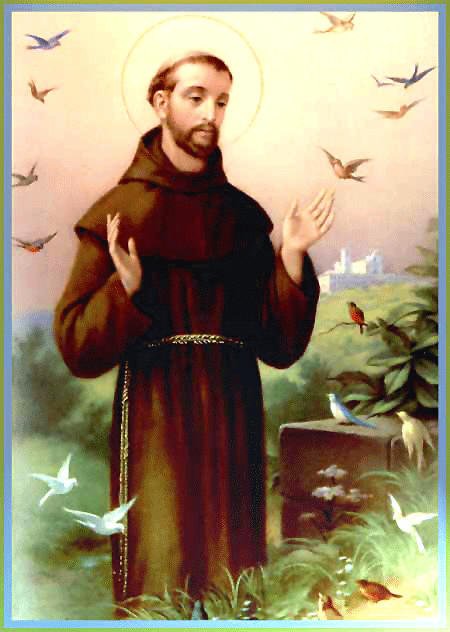 SERMON TO THE BIRDS SAINT FRANCIS