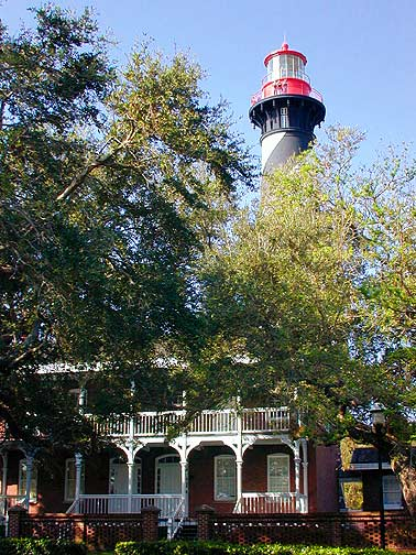 ST AUGUSTINE LIGHTHOUSE FLORIDA PHOTO 2007