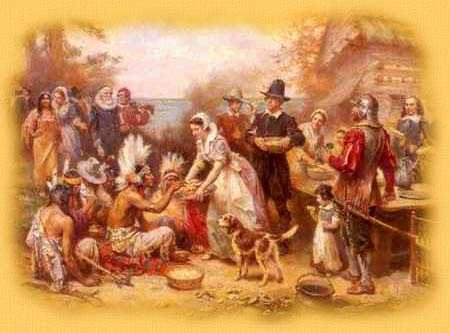 ORIGIN OF THANKSGIVING DAY