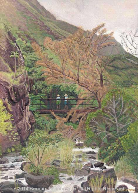 Bridge at Iao Valley