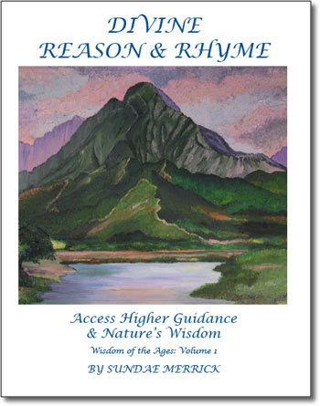 bookcover for Divine Reason & Rhyme by author Sundae Merrick